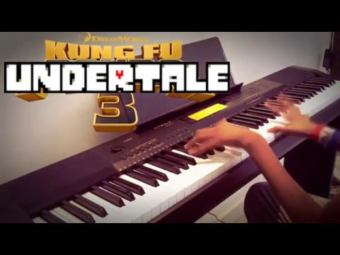 Megalovania / Kung Fu Undertale - Piano + Orchestral
