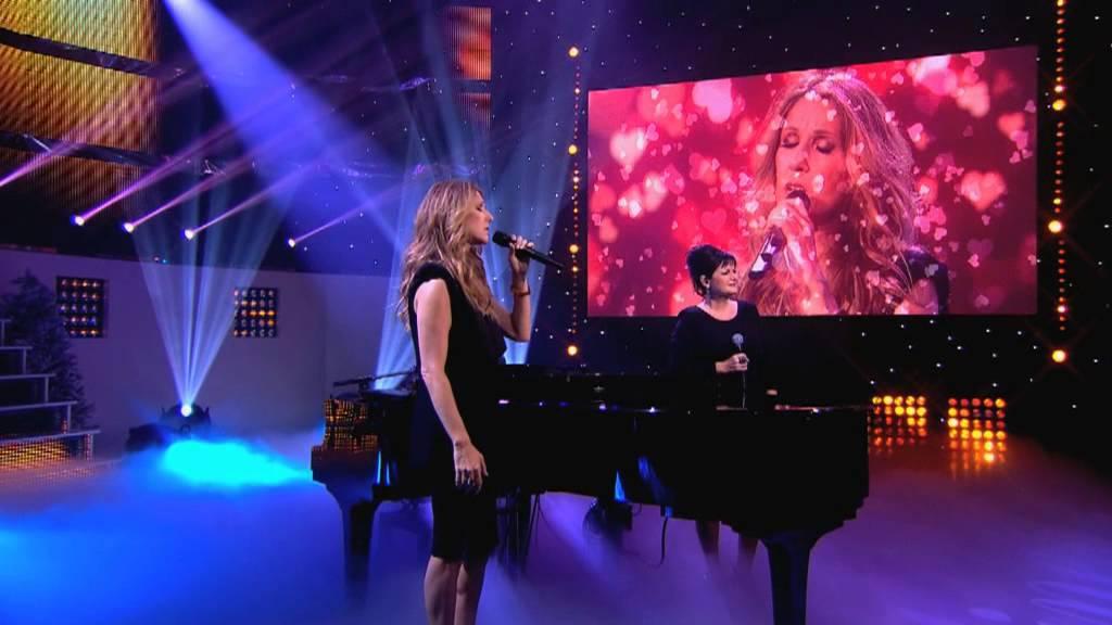 Maurane & Céline Dion 'Quand on a que l'Amour' LIVE
