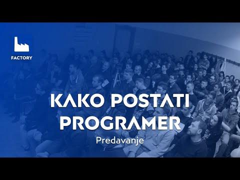 'Kako postati programer' predavanje Plave tvornice