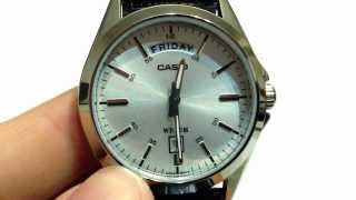 Casio MTP-1370L-7AV Wristwatch Video Review (HD 1080P)