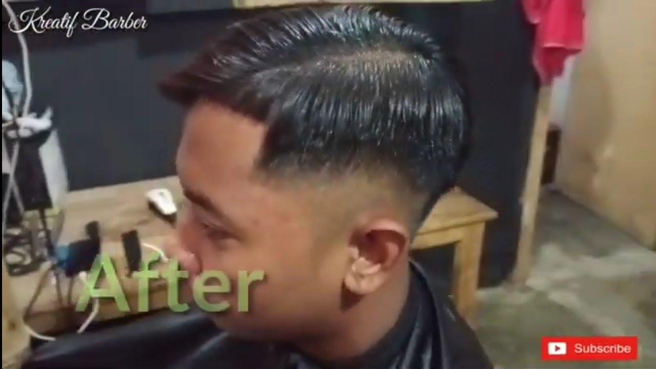 Tutorial gaya rambut mandarin pria - YouTube