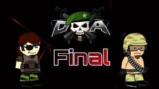 Da2: Mini Militia Mclaren vs Platina (1 vs 1)#Part2-Final