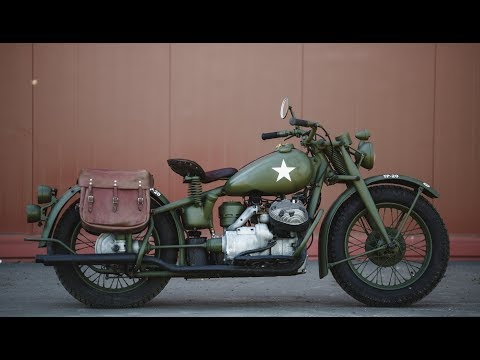 10 Most Iconic Military Motorcycles