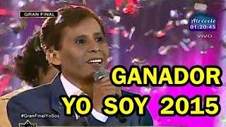 YO SOY 16-05-15 RICARDO MONTANER ES EL GANADOR DE YO SOY 2015 [GRAN FINAL]