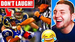 NFL Try Not To Laugh Challenge!