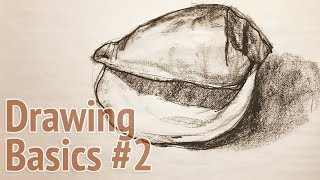 Drawing basics #2 - how to begin a drawing of a seashell