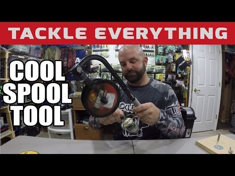 ELIMINATE LINE TWIST - NEW LINE SPOOLING TOOL