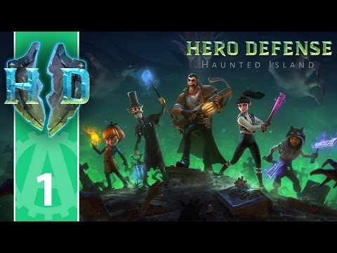 Let's Play Hero Defense Haunted Island 1
