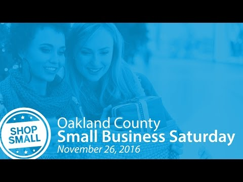 Oakland County's Small Business Saturday Contest
