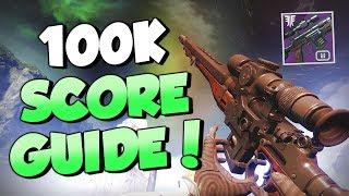 The Insight Terminus 100k High Score Guide! [Destiny 2 Forsaken]
