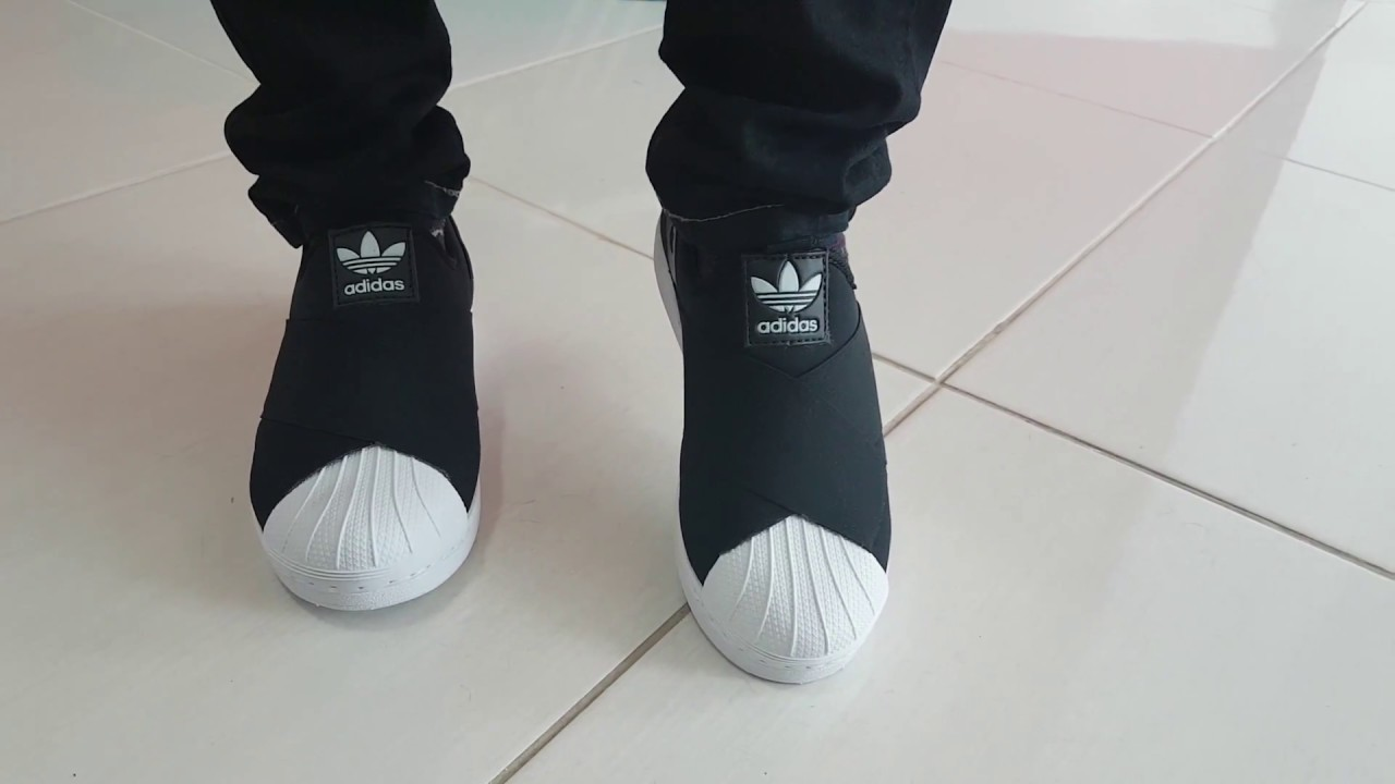 55d1c2bbade0f Os Melhores produtos ML - Tênis Adidas Superstar Slip-On - YouTube