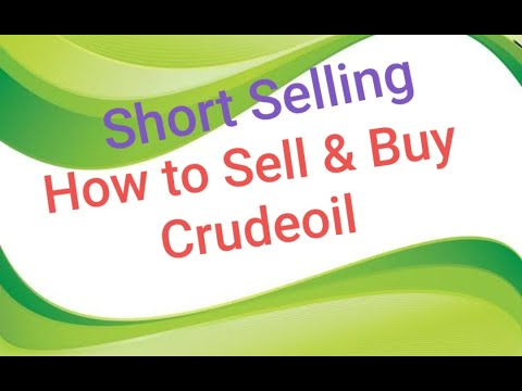 How to SELL & BUY Commodity (Crude oil ) – Angel broking (English)