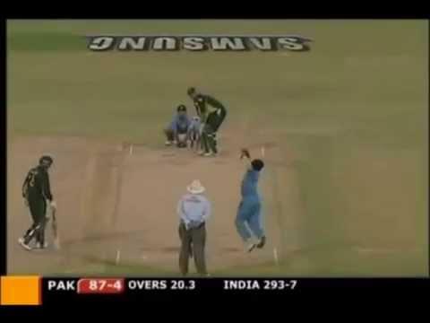 Ind Vs Pak, Sachin Tendulkar Unbelievable catch, Inzamam Haq Vs Murali Kartik