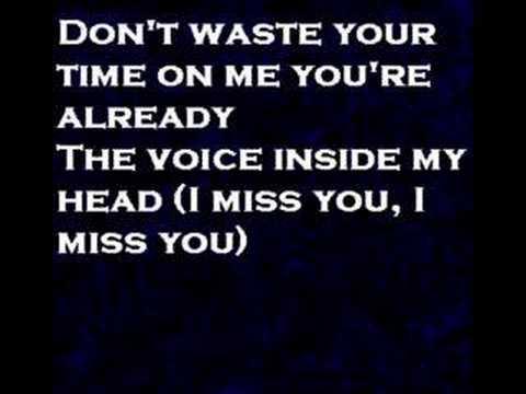 I miss you by blink 182 ((lyrics))