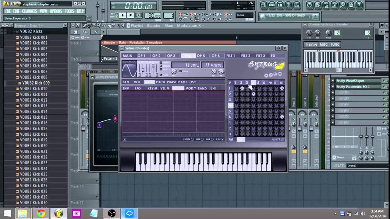 how to create a bass in fl studio