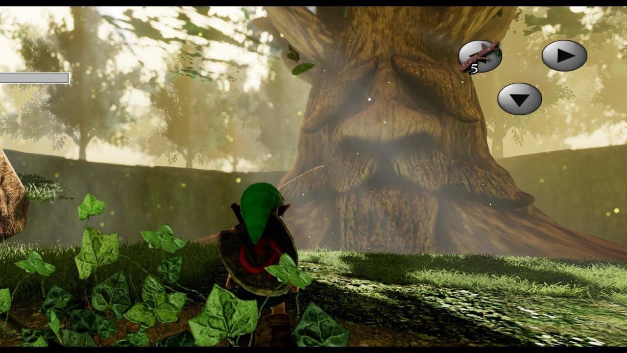 Zelda: Ocarina of Time's Kokiri Forest is Stunning in Unreal Engine 4