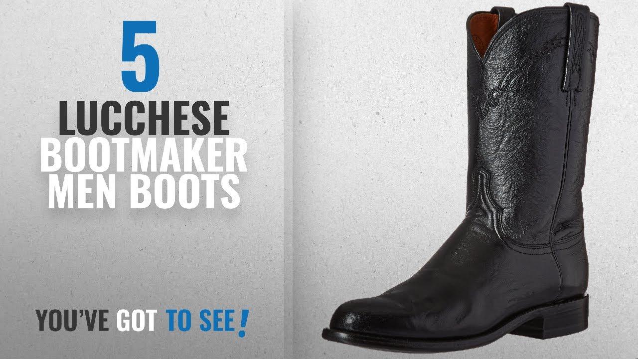 7cfb03d31c6 Top 10 Lucchese Bootmaker Men Boots [ Winter 2018 ]: Lucchese Bootmaker  Men's Lawrence-Blk Lonestar