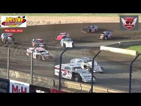 Jamestown Speedway WISSOTA MW Modified Heats (5/25/19)