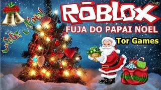 ROBLOX-run away from Santa Claus