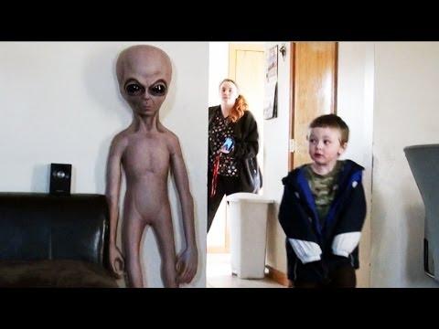Alien Baby Scare Prank