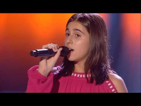Julia: 'Hallelujah' - Audiciones a Ciegas - La Voz Kids 2017