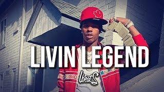 "[FREE] Hard Trap Beat ""Living Legend""   Lit Aggressive Rap Hiphop Freestyle Type Instrumental"