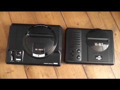 Scorpion XVI SEGA MD Clone - Bootleg Console Review + Teardown - Fake Genesis Mega Drive