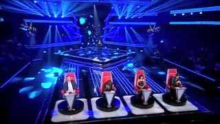 Шоу Голос (НОВОЕ) -Anouska Romão- Whitney Houston