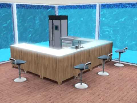 Sims Underwater House YouTube - Cool sims 3 houses