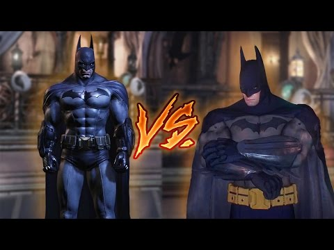Batman Return to Arkham Vs Batman Arkham Knight Iceberg Lounge