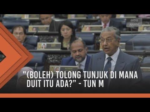 Tun Dr Mahathir Buat Julung Kali Bangkit Berdiri Mencelah Dalam Sesi Perbahasan Di Dewan Rakyat