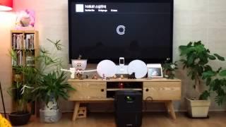 구글크롬캐스트 - 예원이동영상 티비로 보기