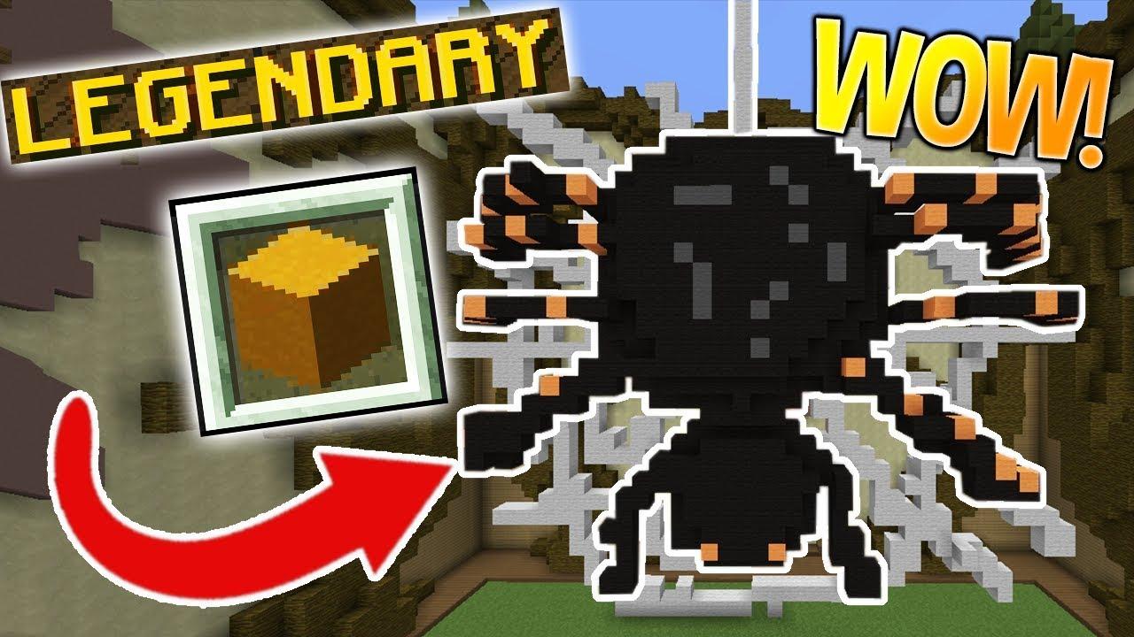 LEGENDARY SPIDER!! (Minecraft Build Battle)