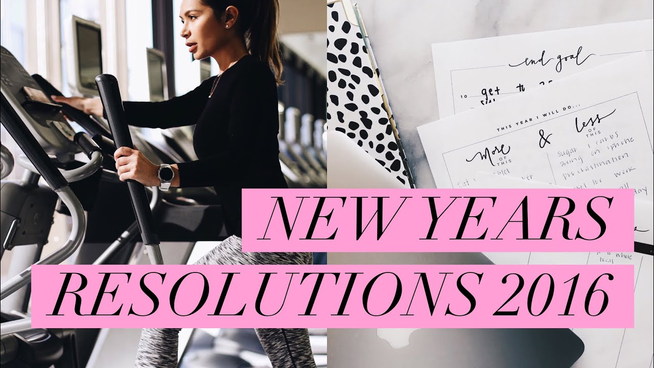 My New Years Resolutions Free Printables