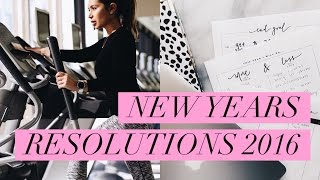 MY NEW YEARS RESOLUTIONS + FREE PRINTABLES