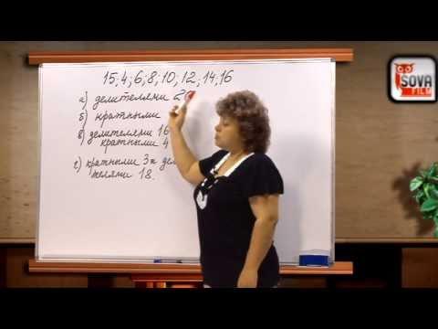 Математика 6 класс.  ПРИЗНАКИ ДЕЛИМОСТИ. ДЕЛИТЕЛИ И КРАТНОЕ. ПРОСТЫЕ И СОСТАВНЫЕ ЧИСЛА.