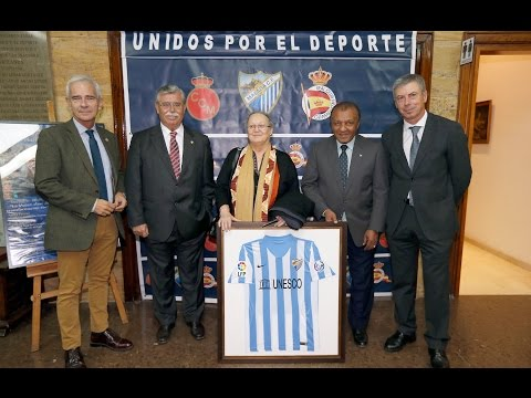 El Málaga CF colaboró con el proyecto Special Olympics Asia Pacific Games