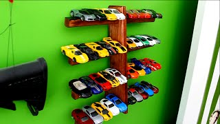 The Complete Guide To A Hotwheels Car Wall Display Stand (free Plans)
