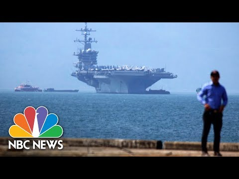 U.S. Aircraft Carrier Visits Vietnam For First Time Since The War | NBC News