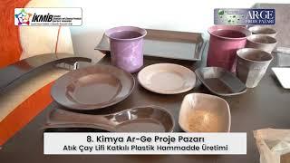 Atık Çay Lifi Katkılı Plastik Hammadde Üretimi