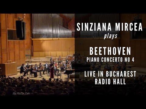 Sinziana Mircea plays Beethoven Concerto No 4 in G Major