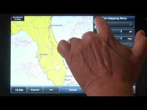 How To Display The Weed Lines Feature | Fish Mapping | SiriusXM Marine
