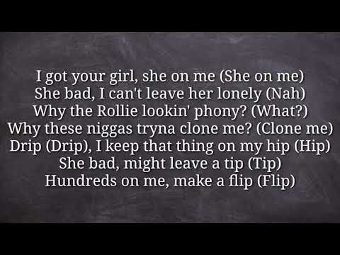 "Yella Beezy - ""That's On Me"" Remix HQ Lyrics"