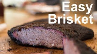 How to Smoke Brisket Easy Method for Brisket on Kamado Joe or Big Green Egg