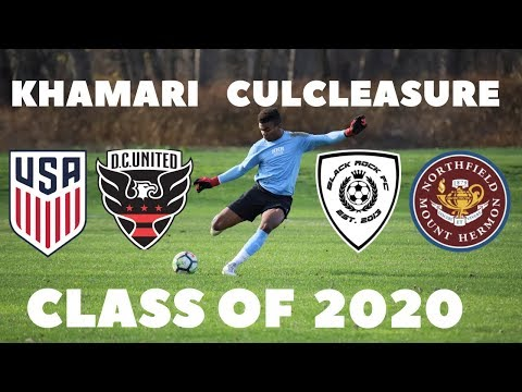 Khamari Culcleasure - Class of 2020 - Northfield Mount Hermon School