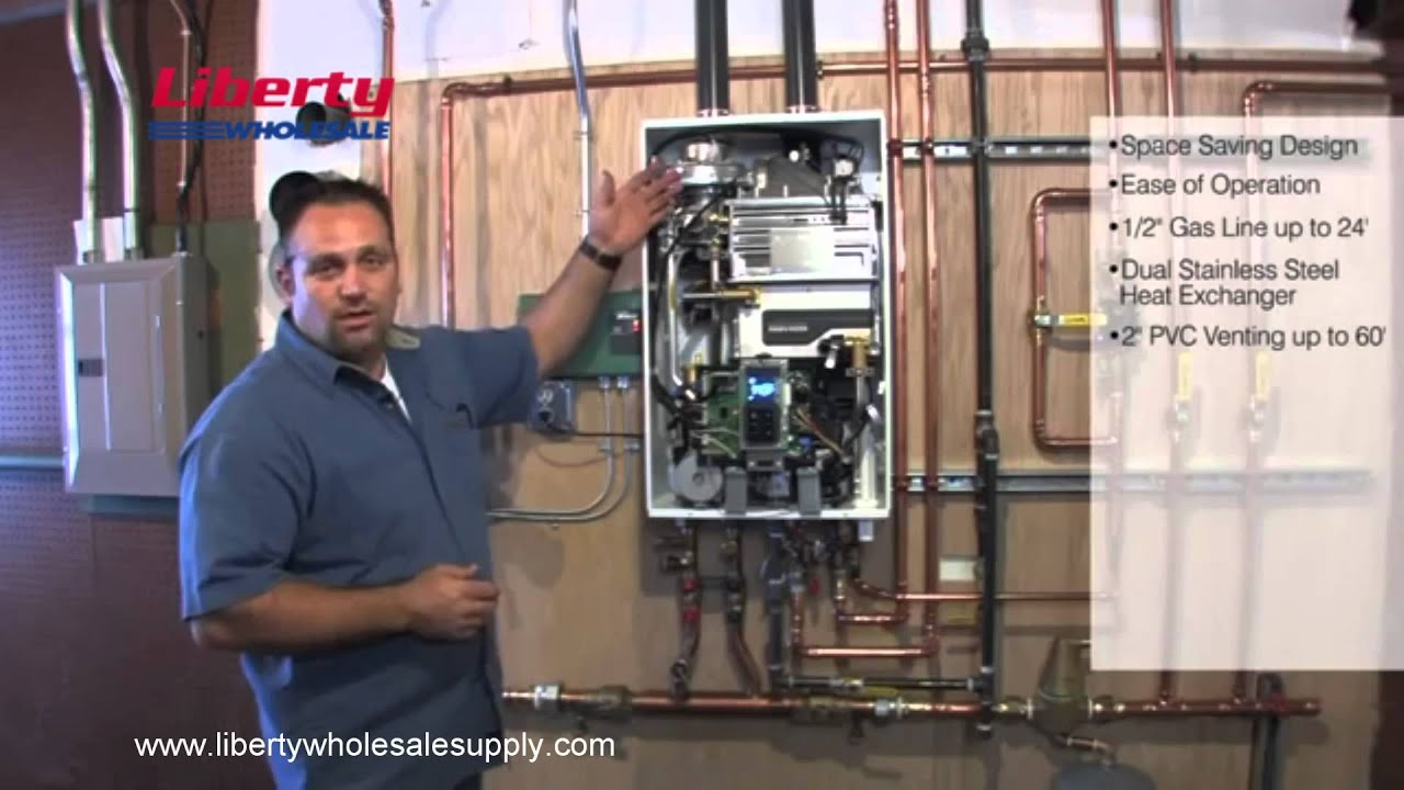 Liberty Wholesale Supply Navien Ncb Installation Youtube