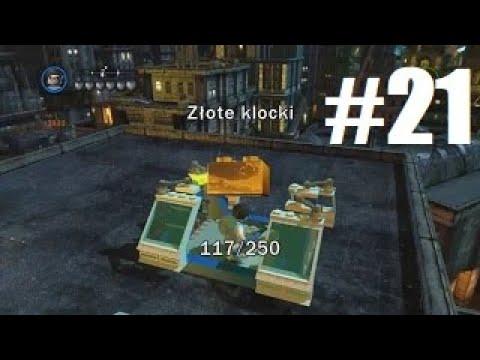 LEGO Batman 2: DC Super Heroes - Wszystkie Złote Klocki w Centralnym Gotham - 100%