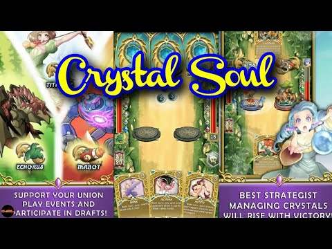 [Crystal Soul] Mobile Card Games CCG Pvp Arena On Android