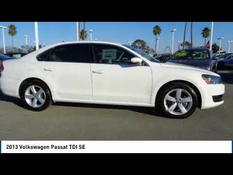 2013 Volkswagen Passat 2013 Volkswagen Passat TDI SE FOR SALE in Salinas, CA P11975