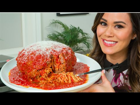 how to make spaghetti meatballs without breadcrumbs